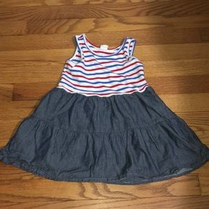 Baby Gap red white and blue sundress